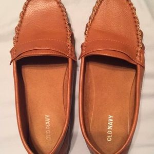 Old navy cognac loafers